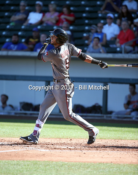 Victor Reyes - Salt River Rafters - 2017 Arizona Fall League (Bill Mitchell)
