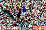 Kieran Donaghy Kerry in action against Aidan O'Shea Mayo in the All Ireland Semi Final Replay in Croke Park on Saturday.