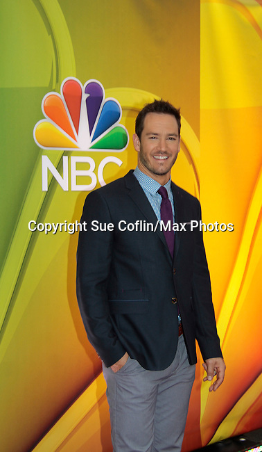 Mark-Paul Gosselaar - People Are Talking - NBC Upfronts at Radio City, New York City, New York on May 11, 2015 (Photos by Sue Coflin/Max Photos)