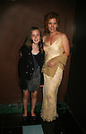 Liz Keifer and daughter Bella - Guiding Light Actors dress up for the Captain's Dinner aboard Carnival's Glory - Day 2 - August 1, 2010 - So Long Springfield at Sea - (Photos by Sue Coflin/Max Photos)