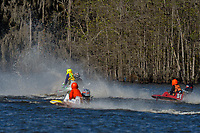 Frame 9: Serena Durr 96-F, Erin Pittman 6-H crash. (Outboard Hydroplanes)