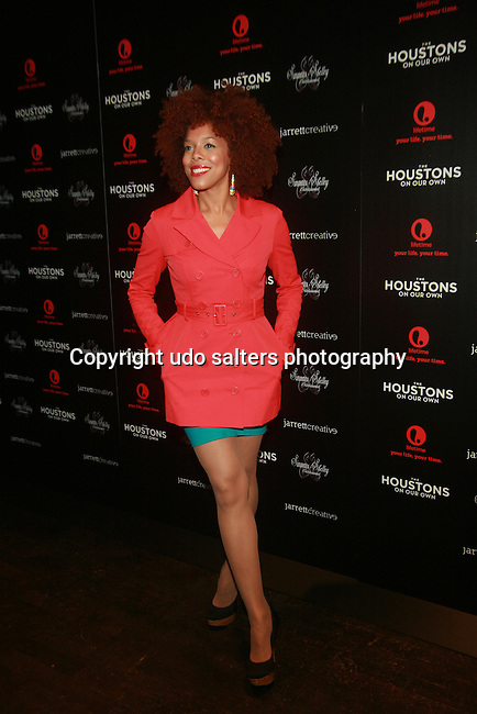 Brianna Colette Attends The Houstons: On Our Own premiere party celebrating the launch of the new Lifetime docuseries held at Tribeca Grand Hotel, NY   10/22/12
