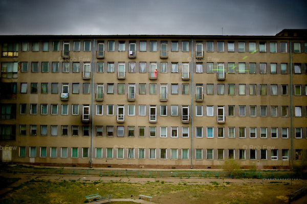 At this hospital in Ulan Batur, the patients are fed at 4.30. By 5pm, there is a group of homeless people begging underneath the windows for food, which some of the patients are kind enough to throw down.<br /> <br /> A series of vicious winters in Mongolia have devastated herds and ruined the livelihoods of traditional herders across the country. With no way to survive on the steppe, hundreds of thousands have descended on the capital, Ulan Batur, nearly doubling its population and creating a huge slum community that threatens to overwhelm available resources, including water, housing and employment.