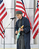 "Washington, DC - January 18, 2009 -- James Taylor performs at the ""Today: We are One - The Obama Inaugural Celebration at the Lincoln Memorial"" in Washington, D.C. on Sunday, January 18, 2009..Credit: Ron Sachs / CNP.(RESTRICTION: NO New York or New Jersey Newspapers or newspapers within a 75 mile radius of New York City)"