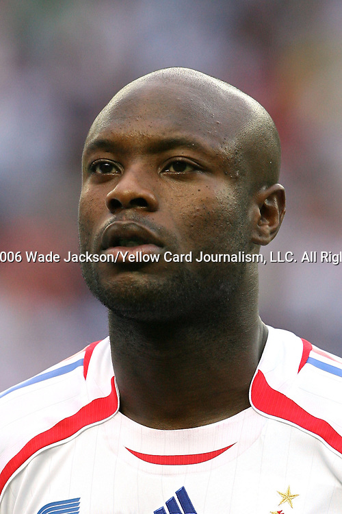 09 July 2006: William Gallas (FRA).  Italy defeated France in a penalty kick shoot-out at the Olympiastadion in Berlin, Germany in match 64, the championship game, of the 2006 FIFA World Cup Finals.