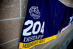 OCT 27: Midnight Bisou Saddle towel at Santa Anita Park in Arcadia, California on Oct 27, 2019. Evers/Eclipse Sportswire/Breeders' Cup