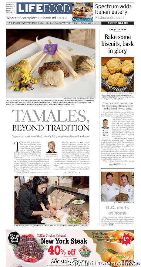 Tamales beyond Tradition