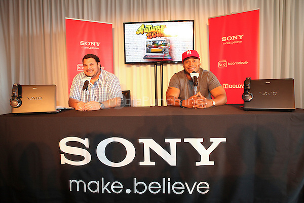 Grammy Award-winning rapper, LL Cool J  appears at an in store to demonstrate Sony's new software application 'My Connect Studio' for the VAIO E14P laptop at the new Sony store in New York City. June 20, 2012. © Diego Corredor/MediaPunch Inc