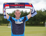 Kris Boyd back at Rangers as he signs on again for the Championship campaign