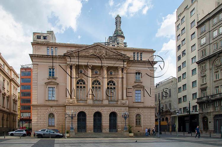 Secretaria de Justiça no Pátio do Colégio, centro histórico de São Paulo. São Paulo-SP, 01/2014.