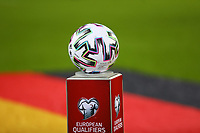 Spielball liegt bereit - 16.11.2019: Deutschland vs. Weißrussland, Borussia Park Mönchengladbach, EM-Qualifikation DISCLAIMER: DFB regulations prohibit any use of photographs as image sequences and/or quasi-video.