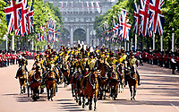 17 June 2017 - London, England - Trooping the Colour. The ceremony of the Trooping the Colour, marking the monarch's official birthday, in London. Photo Credit: PPE/face to face/AdMedia
