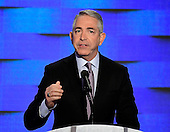 Doug Elmets, former Reagan Administration official,  makes remarks during the fourth session of the 2016 Democratic National Convention at the Wells Fargo Center in Philadelphia, Pennsylvania on Thursday, July 28, 2016.<br /> Credit: Ron Sachs / CNP<br /> (RESTRICTION: NO New York or New Jersey Newspapers or newspapers within a 75 mile radius of New York City)