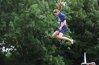 FIERLJEPPEN: GRIJPSKERK: 17-08-2013, 1e Klas wedstrijd, ©foto Martin de Jong