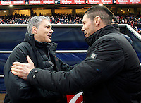 Madrid Estadio Vicente Calderon 2015/01/18<br /> Temporada 2014 - 2015<br /> Liga BBVA Primera Division<br /> Jornada 19<br /> Atletico de Madrid - Granada C.F.