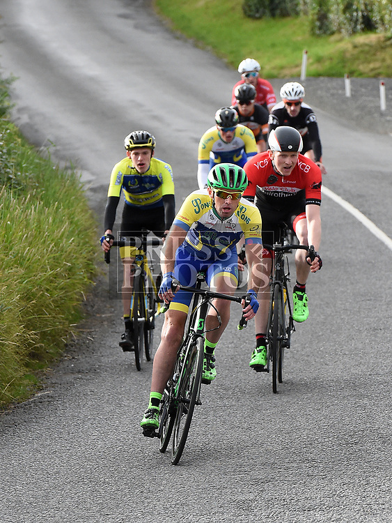 Gavin Byrne riding in the first round of the Mark Mullen League hosted by Drogheda Wheelers. Photo:Colin Bell/pressphotos.ie