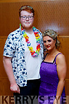 Imelda Roche & Mark Moloney contestants  at the Tralee Rugby Club's 'Strictly Come Dancing' event in the Ballyroe Heights Hotel on Friday night.