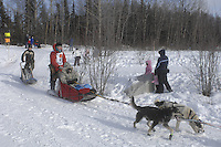 Dries Jacobs Anchorage Start Iditarod 2008.