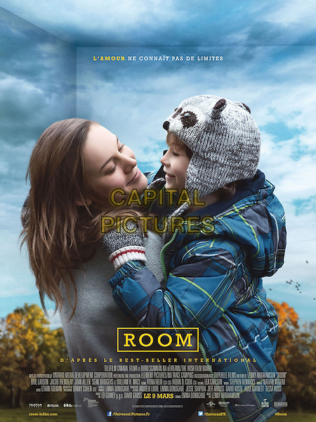 Room (2015)<br /> POSTER ART<br /> *Filmstill - Editorial Use Only*<br /> CAP/KFS<br /> Image supplied by Capital Pictures
