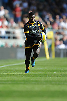 Christian Wade of Wasps in action during the Premiership Rugby Final at Twickenham Stadium on Saturday 27th May 2017 (Photo by Rob Munro)