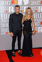 www.acepixs.com<br /> <br /> February 22 2017, London<br /> <br /> Josh Cuthbert arriving at The BRIT Awards 2017 at The O2 Arena on February 22, 2017 in London, England.<br /> <br /> By Line: Famous/ACE Pictures<br /> <br /> <br /> ACE Pictures Inc<br /> Tel: 6467670430<br /> Email: info@acepixs.com<br /> www.acepixs.com