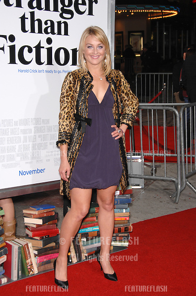 "ELISABETH ROHM at the Los Angeles premiere of ""Stranger than Fiction""..October 30, 2006  Los Angeles, CA.Picture: Paul Smith / Featureflash"