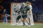 Placentia, CA 05/14/10 - Cody Smith (MC # 7) in action during the Mira Costa vs Foothill boys lacrosse game for the 2010 Los Angeles / Orange County CIF Championship.