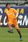 19 November 2011: Josue Soto. The Houston Dynamo held a practice session at the Home Depot Center in Carson, CA one day before playing in MLS Cup 2011.