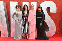 "Helena Bonham Carter, Sandra Bullock, Sarah Paulson and Mindy Kaling<br /> arriving for the ""Ocean's 8"" European premiere at the Cineworld Leicester Square, London<br /> <br /> ©Ash Knotek  D3408  13/06/2018"