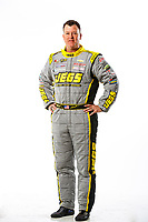 Feb 7, 2018; Pomona, CA, USA; NHRA pro stock driver Jeg Coughlin Jr poses for a portrait during media day at Auto Club Raceway at Pomona. Mandatory Credit: Mark J. Rebilas-USA TODAY Sports