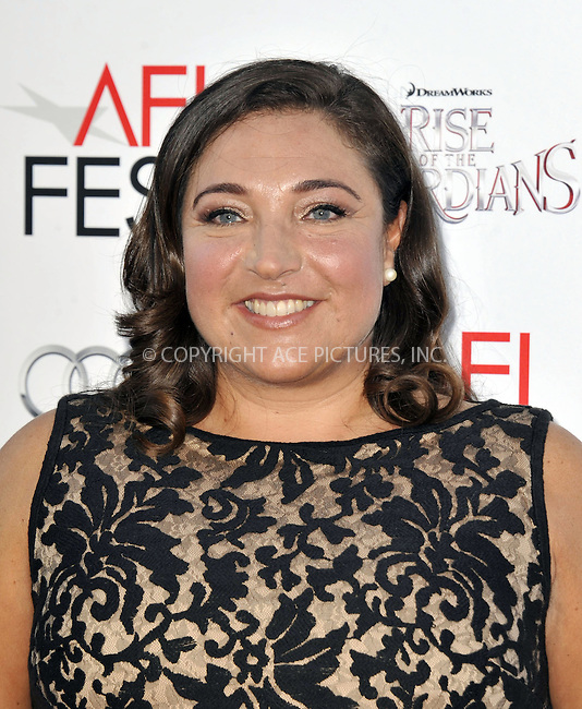 WWW.ACEPIXS.COM....November 4 2012, LA....Jo Frost arriving at the gala screening of 'Rise Of The Guardians' during the 2012 AFI FEST at Grauman's Chinese Theatre on November 4, 2012 in Hollywood, California. ......By Line: Peter West/ACE Pictures......ACE Pictures, Inc...tel: 646 769 0430..Email: info@acepixs.com..www.acepixs.com