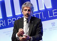 Ale Reza Arabnia , presidente Geico durante il XXIX convegno di Capri per Napoli   dei  Giovani Industriali a Citta della Scienza , 25 Ottobre 2014