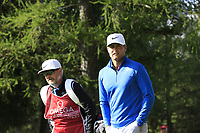 Lucas Bjerregaard (DEN) walks off the 2nd tee during Thursday's Round 1 of the 2017 Omega European Masters held at Golf Club Crans-Sur-Sierre, Crans Montana, Switzerland. 7th September 2017.<br /> Picture: Eoin Clarke | Golffile<br /> <br /> <br /> All photos usage must carry mandatory copyright credit (&copy; Golffile | Eoin Clarke)
