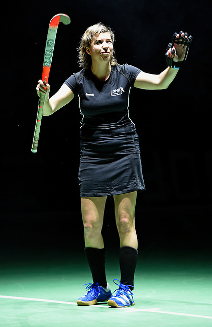 Berlin, Germany, February 01: During the Abschiedsmatch of Natascha Keller on February 1, 2015 at the Final Four tournament at Max-Schmeling-Halle in Berlin, Germany. (Photo by Dirk Markgraf / www.265-images.com) *** Local caption ***