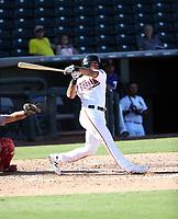 LaMonte Wade - Surprise Saguaros - 2017 Arizona Fall League (Bill Mitchell)
