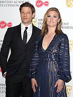 James Norton and Julia Stiles at the Virgin Media BAFTA Television Awards 2019 - Press Room at The Royal Festival Hall, London on May 12th 2019<br /> CAP/ROS<br /> ©ROS/Capital Pictures