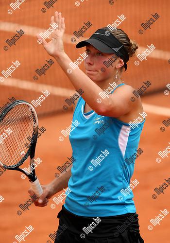 2010-05-25 / Tennis / Roland Garros 2010 / Day 3 /   Yanina Wickmayer wins her game against Sandra Zahlavova..Foto: mpics