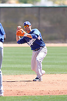 Jaime Pedroza, Los Angeles Dodgers 2010 minor league spring training..Photo by:  Bill Mitchell/Four Seam Images.