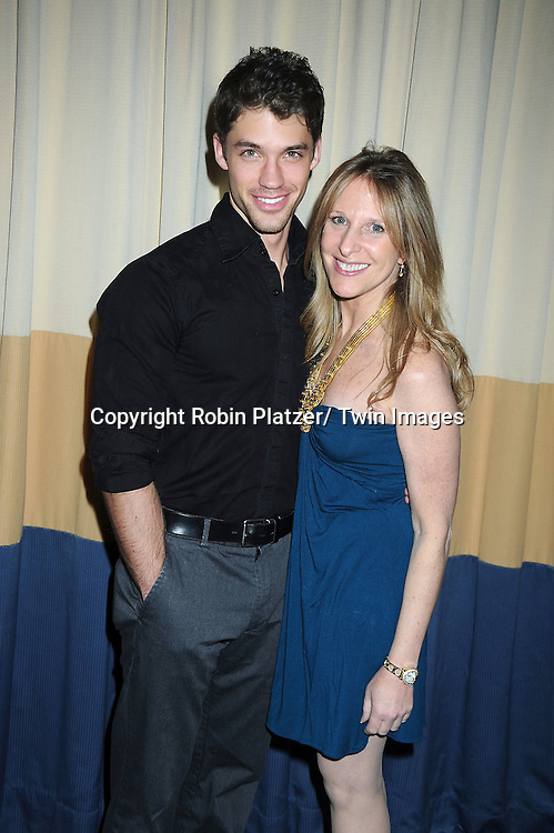 David Gregory and Marcia Tovsky attending the 26th Annual Starlight Children's Foundation Gala on March 16, 2011 at The Marriott Marquis Hotel in New York City.