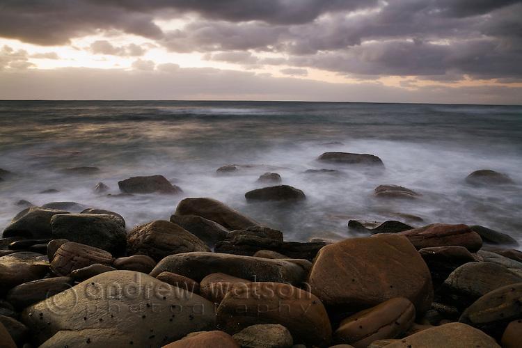 Rugged coast of Cape Naturaliste.  Leeuwin-Naturaliste National Park, Western Australia, AUSTRALIA.