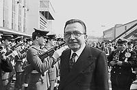 - aprile 1977, il Presidente del Consiglio Giulio Andreotti inaugura la Fiera Campionaria di Milano....- april 1977, the Prime Minister Giulio Andreotti inaugurates the Milan Fair
