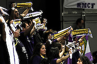 Real Madrid's supporters during Euroliga quarter final match. April 10,2013.(ALTERPHOTOS/Alconada) /NortePhoto