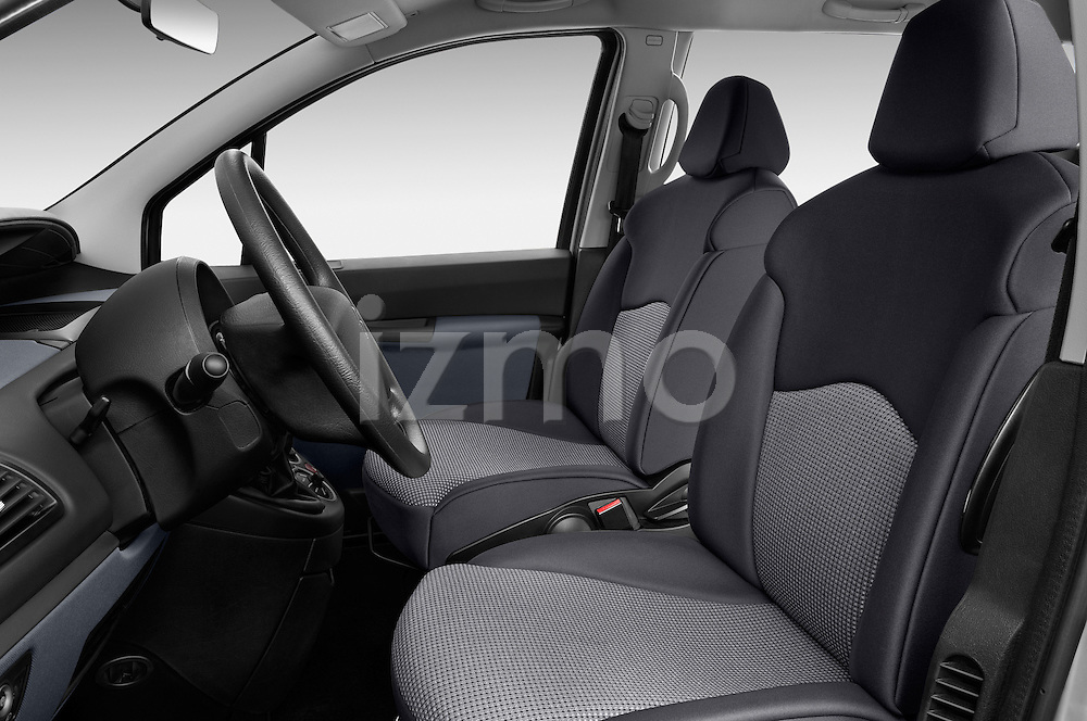 Front seat view of a 2002 - 2014 Citroen C8 Airplay Minivan.
