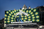 Nazareth billboard for the album Lound N Proud on the Sunset Strip in West Hollywood.
