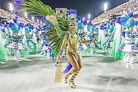 Rio de Janeiro (RJ) 24/02/20 Carnaval- Rio - Apresentacao da escola de samba Unidos da Tijuca do grupo especial, no segundo dia de desfile no Sambodromo na Marques de Sapucai nesta segunda - feira de Carnaval (24) (Foto: Ellan Lustosa/Codigo 19/Codigo 19)