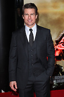 Tom Cruise arriving at the premiere of 'Edge Of Tomorrow', at the IMAX, London. 28/05/2014 Picture by: Alexandra Glen / Featureflash