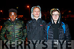 Nick Izehi Steven Oprison and Dominick Hurley pictured at the Mounthawk Family First Walk, at the Canal on Friday night last