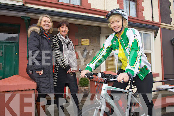 Kerry Rape and Sexual Abuse Centre are looking for people to register to take part in the Ring of Kerry Cycle, taking place on the 6th July, pictured l-r: Vera O'Leary (manager) Alice Kavanagh and Betty Garnett.