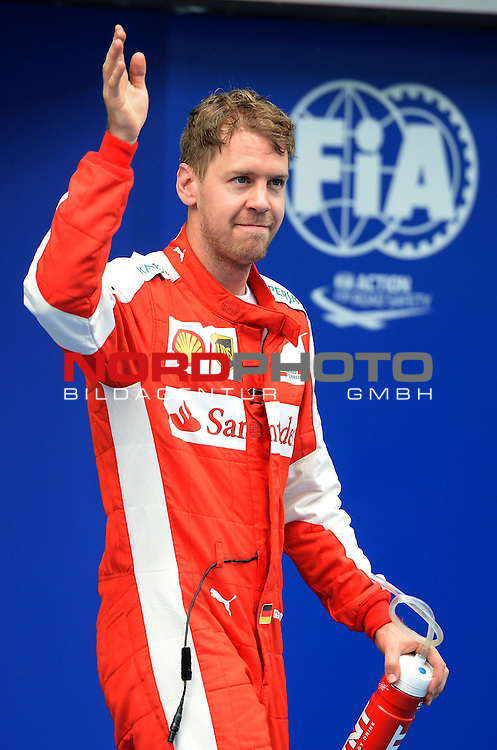 28.03.2011, Sepang-International-Circuit, Malaysia, MAL , Gro&szlig;er Preis von Malaysia / Kuala Lumpur, Training im Bild<br />  Sebastian Vettel (GER), Scuderia Ferrari<br /> for the complete Middle East, Austria &amp; Germany Media usage only!<br />  Foto &copy; nph / Mathis
