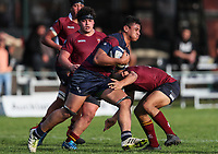 Action during the 1st XV Rugby match between Kings College and Tamaki College, Kings College, Auckland, New Zealand. Saturday 27 May 2017. Photo: Simon Watts/www.bwmedia.co.nz for Kings College